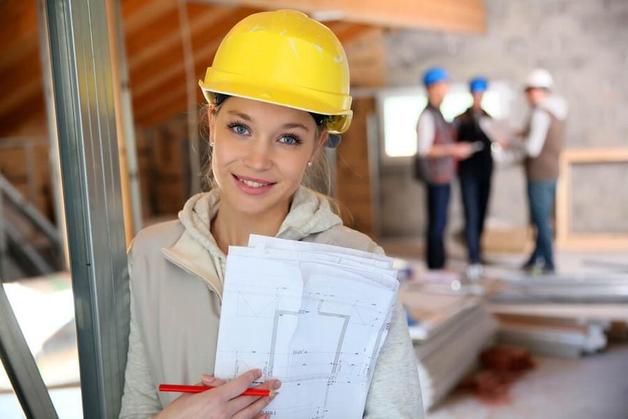 Женщины в строительстве