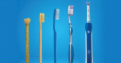 Виды и материал зубных щеток